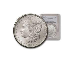 1878 S MS 64 PCGS Morgan Silver Dollar