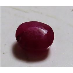 1.5 ct. Natural Red Ruby Gemstone Better Quality