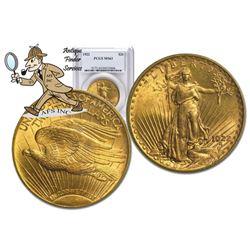 1922 MS 63 PCGS $20 Gold Saint Gaudens