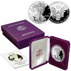 1988 US Silver Eagle Proof OMB