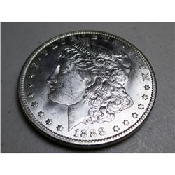 1888 O BU Better Date Morgan Dollar
