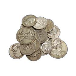 $5 Face Value -90% Silver Random Mixed Lot