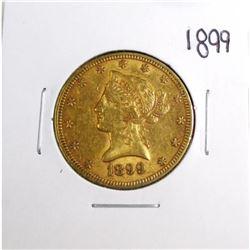 1899 $10 Gold Liberty Eagle