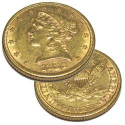 1882 P $5 Gold Liberty Half Eagle