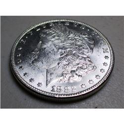1882 P BU Morgan Silver Dollar