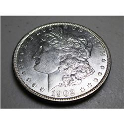 1902 P BU Morgan Dollar