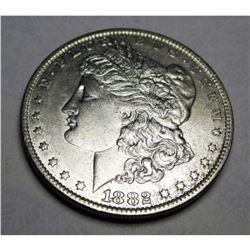 1882 O BU Morgan Silver Dollar