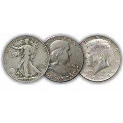Starter Set $1.50 Face Value 90% Silver Halves