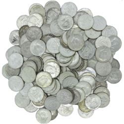 (50) Kennedy Half Dollars -90% Silver 1964
