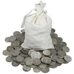 (250) Franklin Half Dollars -90% Silver
