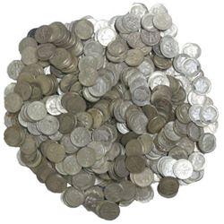 200 pcs. Roosevelt Dimes -90% Silver