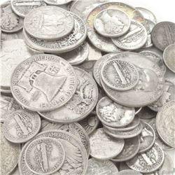 $10 Face Value -90% Silver Mix Random