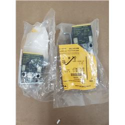 (2) TURCK Bi15U-CK40-AP6X2-H1141 PROXIMITY SENSOR