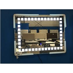 "LED BATHROOM VANITY MIRROR - 31.5"" X 23.5"""