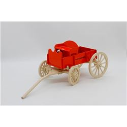 Allis Chalmers buggy/wagon *Some paint chips*