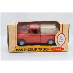 1955 Pickup Truck Bank Ertl Has Box