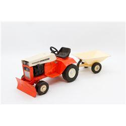 Allis Chalmers garden tractor w/ trailer