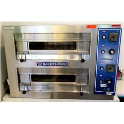 "Baker's Pride Super Deck Series Double Deck Countertop Pizza Oven 41.5""W x 35""D x 29""H"