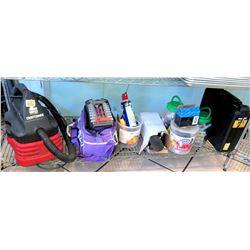 Craftsman Dry Vac, Rachet & Socket Set, Misc Tools, etc