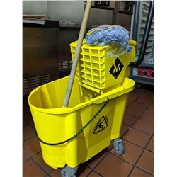 Mop & rolling Mop Bucket