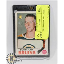 BOBBY ORR 1969 HOCKEY CARD.