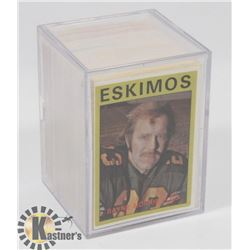 LOT OF 1971 AND 1970 CFL CARDS.