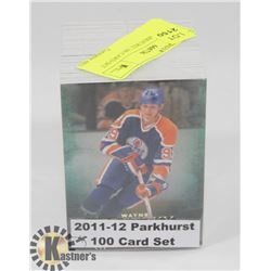 2011-12 PARKHURST 100 CARD SET HOCKEY