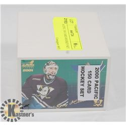 2000 PACIFIC 150 CARD HOCKEY SET