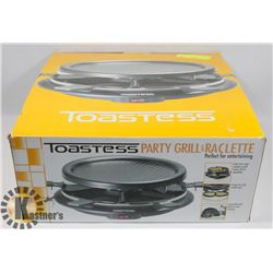 NEW TOASTESS PARTY GRILL & RACLETTE