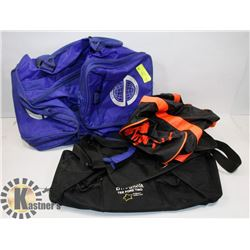 LOT OF 3 GYM BAGS