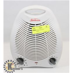 SUNBEAM HEATER WITH THERMOSTAT