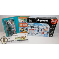 NEW ITEMS NHL PLAYMOBIL #9017