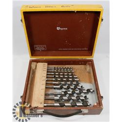 """WOOD SHIP AUGER DRILL BITS FROM 1/4"""" - 1- 1/4"""""""