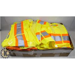 FLAT OF ASSORTED PROTECTIVE CLOTHING