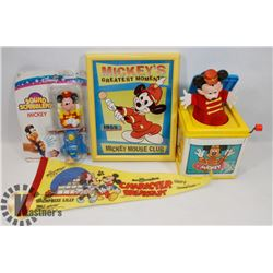 VINTAGE FLAT OF  DISNEY MICKEY MOUSE
