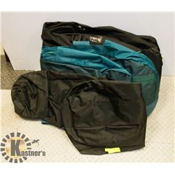LOT OF 3 GOLF CLUB BAG CARRY CASES
