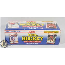 FACTORY SEALED 1990 COLLECTOR SCORE NHL HOCKEY SET