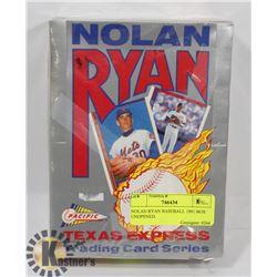 NOLAN RYAN BASEBALL 1991 BOX UNOPENED.