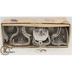 6 XENIA GLASSES