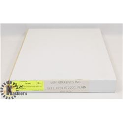 """NEW CASE 100 SANDPAPER SHEETS 9X11"""" MADE IN"""
