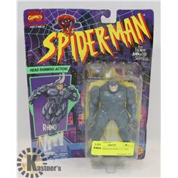 1994 SPIDERMANS RHINO ACTION FIGURE