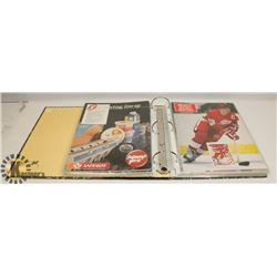 BINDER OF HOCKEY AND CELEBRITY PHOTOS