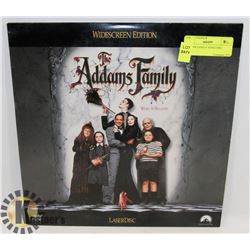 ADDAMS FAMILY VIDEO DISC