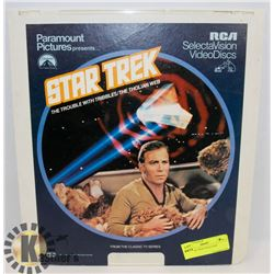 1982 STAR TREK VIDEO DISC