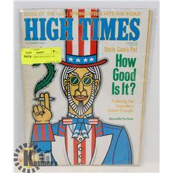 1984 HIGH TIMES MAGAZINE 420