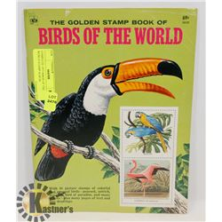 COMPLETE 1973 BIRDS OF THE WORLD STAMP ALBUM