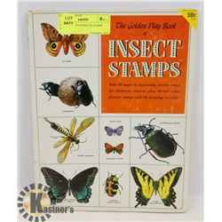 COMPLETE 1954 INSECTS STAMP ALBUM