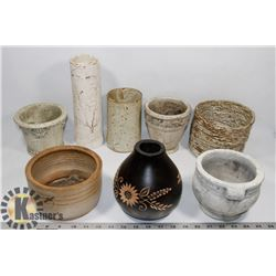 LOT OF ASSORTED POTTERY