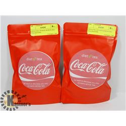 TWO BAGS OF COCA COLA DIET WEIGHT LOSS TEA