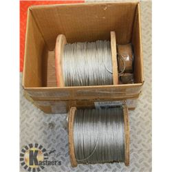 BOX WITH 2 ROLLS AIRCRAFT CABLE 1/8-3/32.